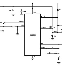 isl6528 dual regulator standard buck pwm and linear power controller [ 2154 x 1392 Pixel ]