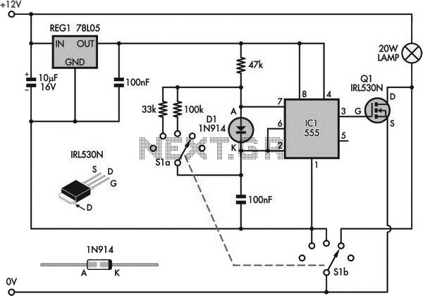 Schematic 12 Volt Trickle Charger, Schematic, Free Engine