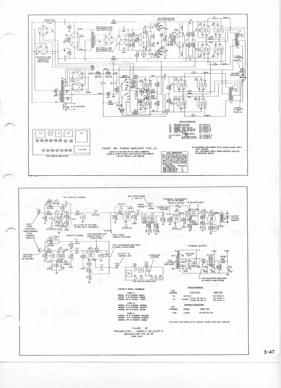 Hammond C2 Organ Preamp Under Repository Circuits