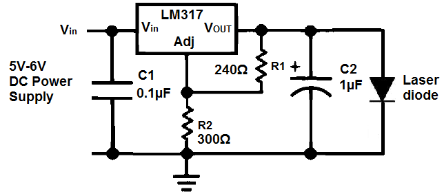 Laser Diode Driver Circuit Diagram Additionally Knight