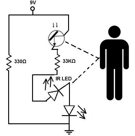 Proximity detector circuit