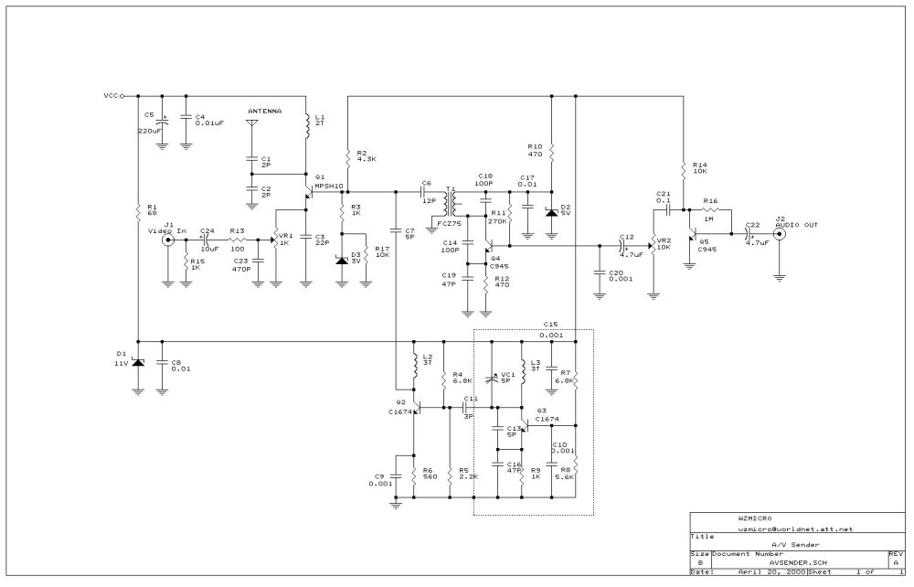 medium resolution of uhf circuit page 2 rf circuits next gr electronic circuit diagram tv tuner reciver uhf vhf vl if out