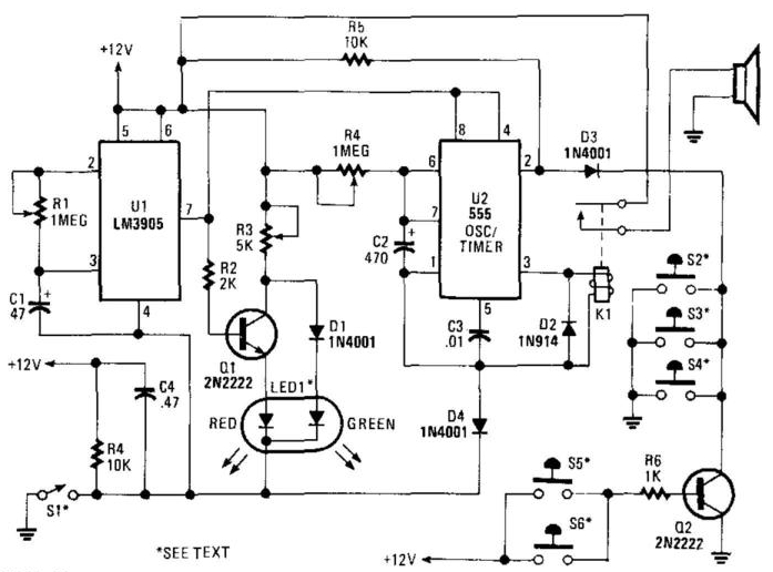 Car Alarm Circuit Wiring Diagram : 32 Wiring Diagram