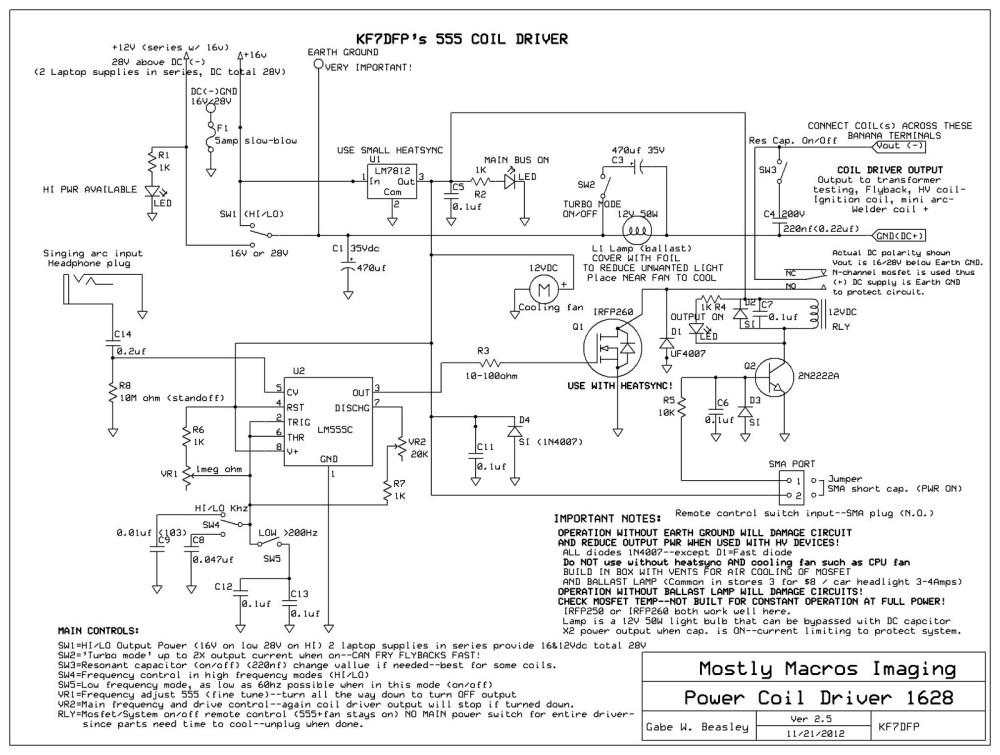 medium resolution of tesla coil built