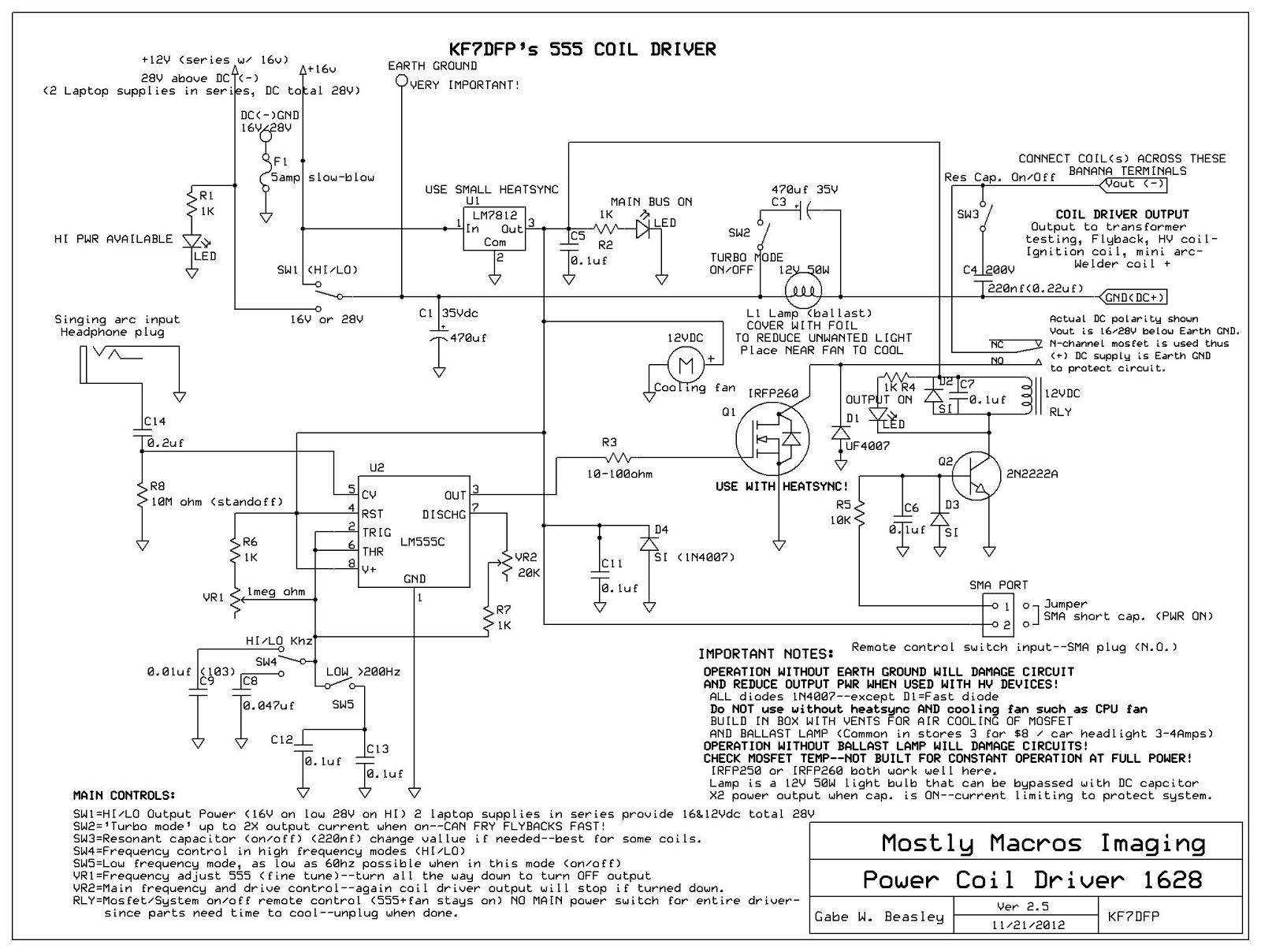 hight resolution of tesla coil built