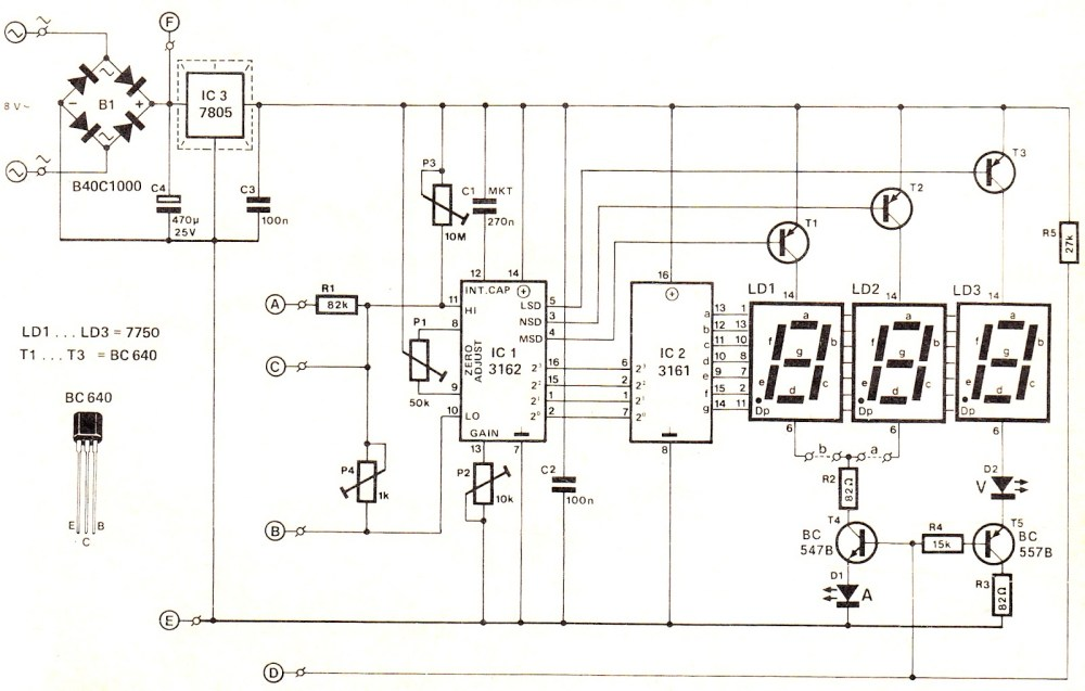 medium resolution of voltmeter circuit page 3 meter counter circuits next gr digital voltmeter and ammeter circuit module