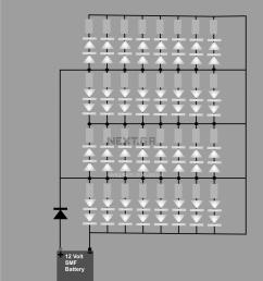 12 volt led circuit diagram  [ 1116 x 1242 Pixel ]