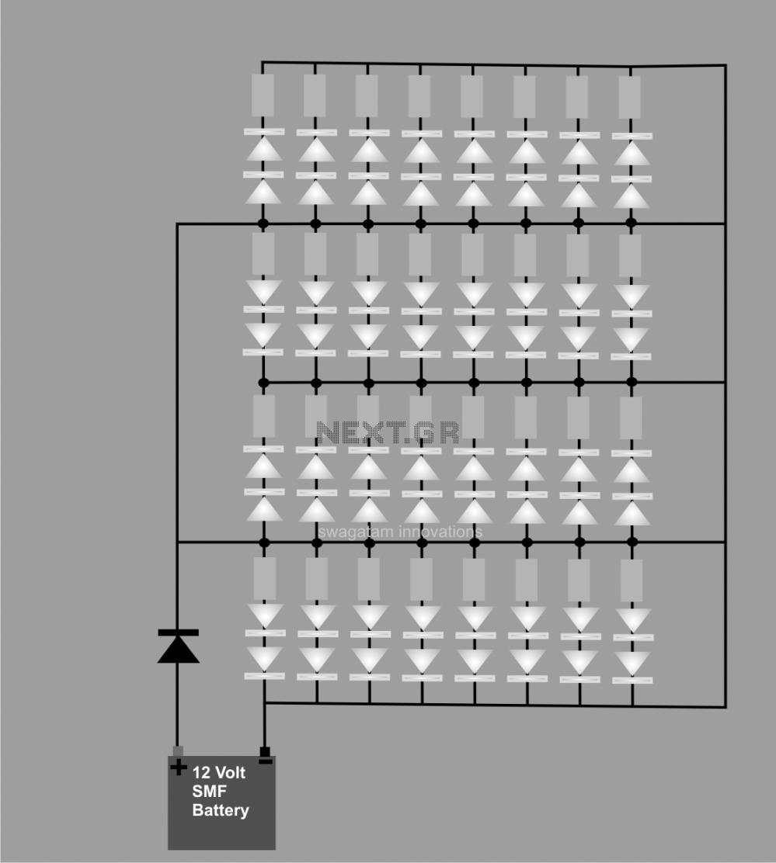 medium resolution of 12 volt led circuit diagram