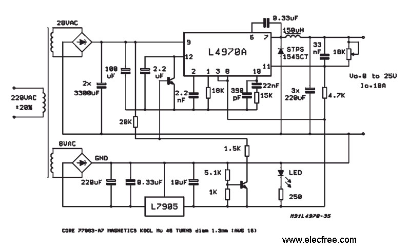 switching power supply Page 4 : Power Supply Circuits