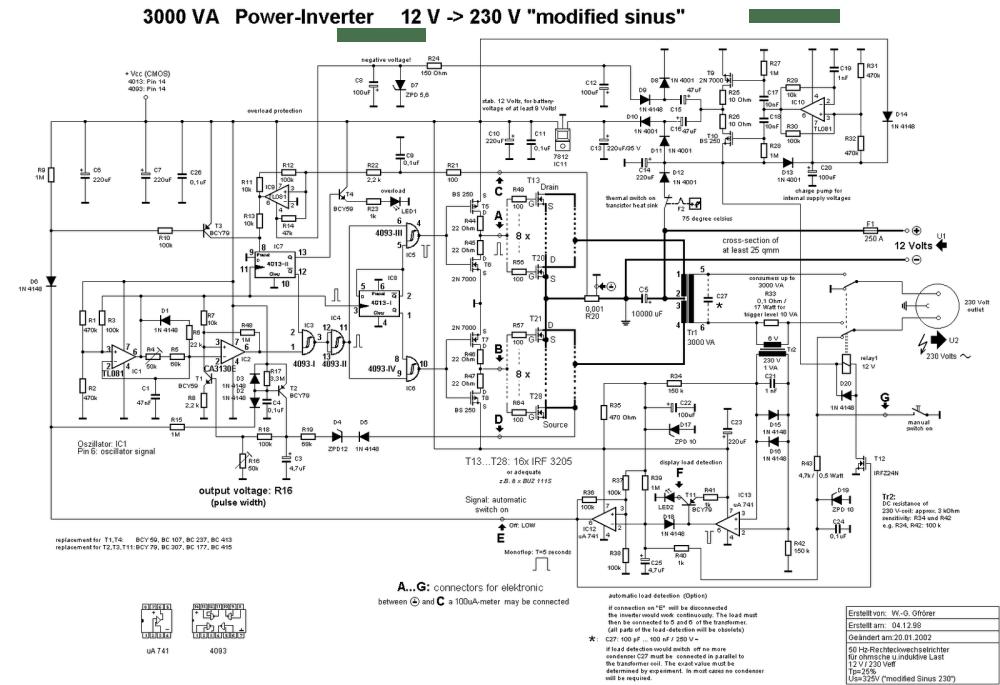 medium resolution of 3000w power inverter 12v dc to 230v ac inverter circuit