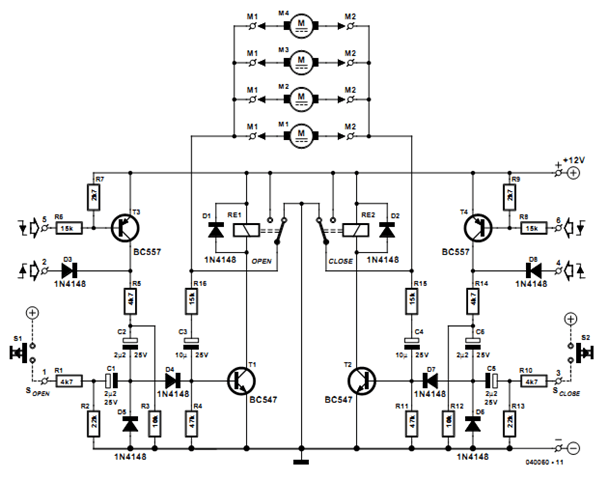 door lock circuit Page 3 : Security Circuits :: Next.gr