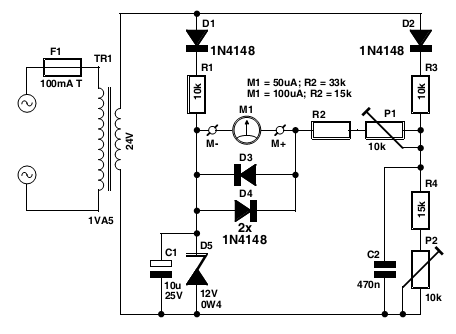 voltmeter circuit Page 2 : Meter Counter Circuits :: Next.gr