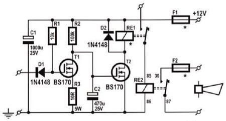Clifford 3305x Wiring Diagram