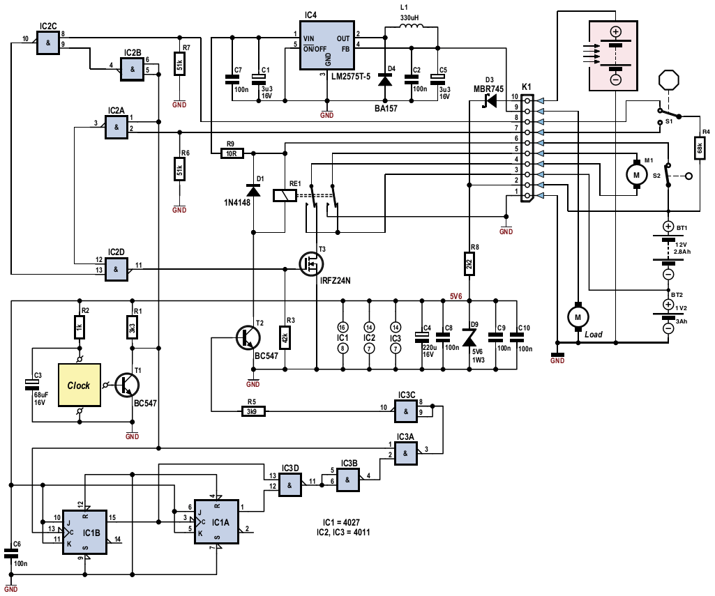 to index solar tracker this circuit is a solar tracker