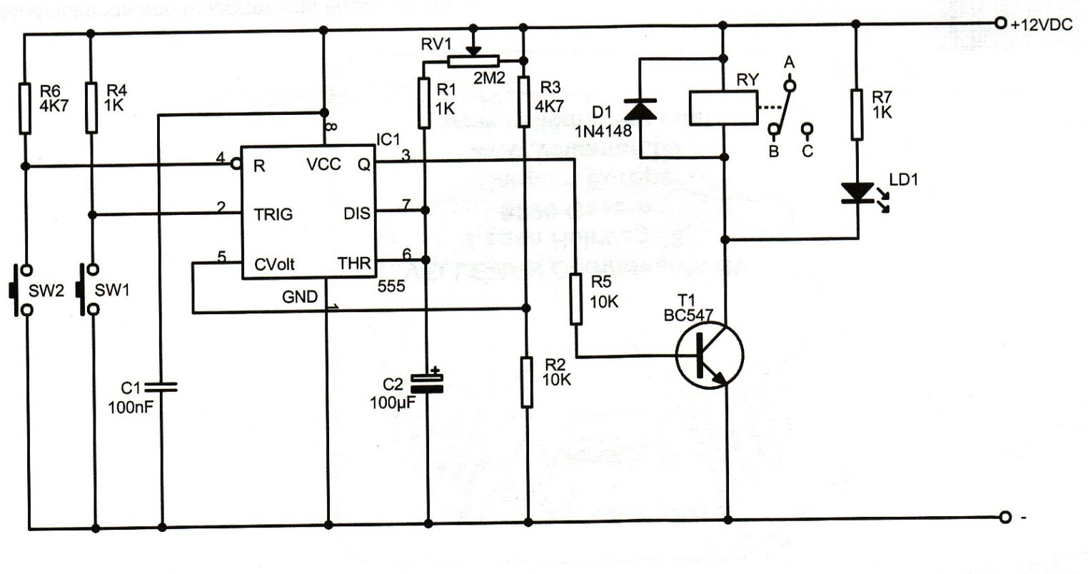 Cyclic Relay Wiring Diagram Wye-Delta Motor Control