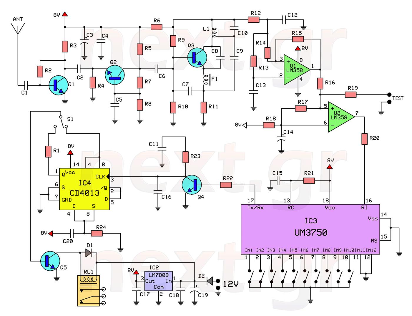 hight resolution of door lock circuit security circuits next gr electronic security door key circuit diagram super circuit diagram