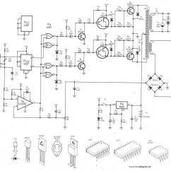 Dc To Ac Inverter Diagram 2016 Nissan Versa Radio Wiring 300watt 24v 220v Circuit