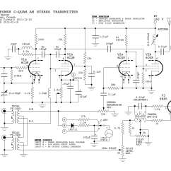Rf Tx And Rx Circuit Diagram How To Make A Kite C-quam Am Stereo Transmitter Using Valves : Repository - Next.gr