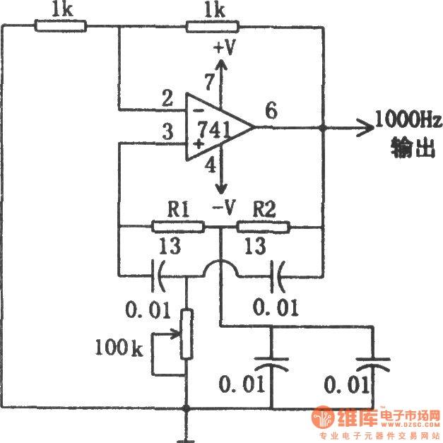 sine wave oscillator circuit Page 2 : Oscillator Circuits
