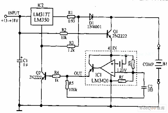 lithium ion battery charging circuit