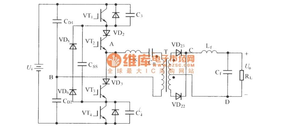 medium resolution of zero voltage zero current switch three level dc converter