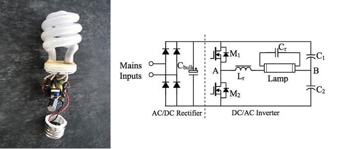 Rectifier Electron Ballast Circuit Basiccircuit Circuit