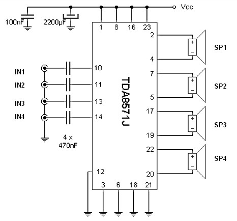 audio amplifier circuit Page 11 : Audio Circuits :: Next.gr