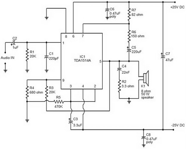 Amplifier Circuit Diagrams 1000w Results Page 65 About Amplifier Searching Circuits At