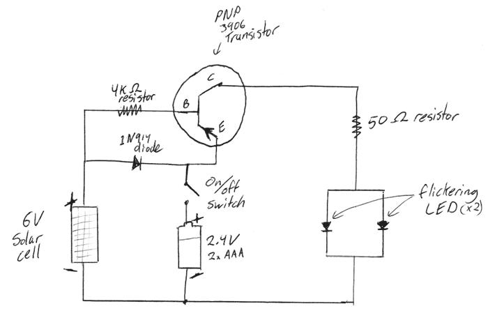 solar generator circuit diagram
