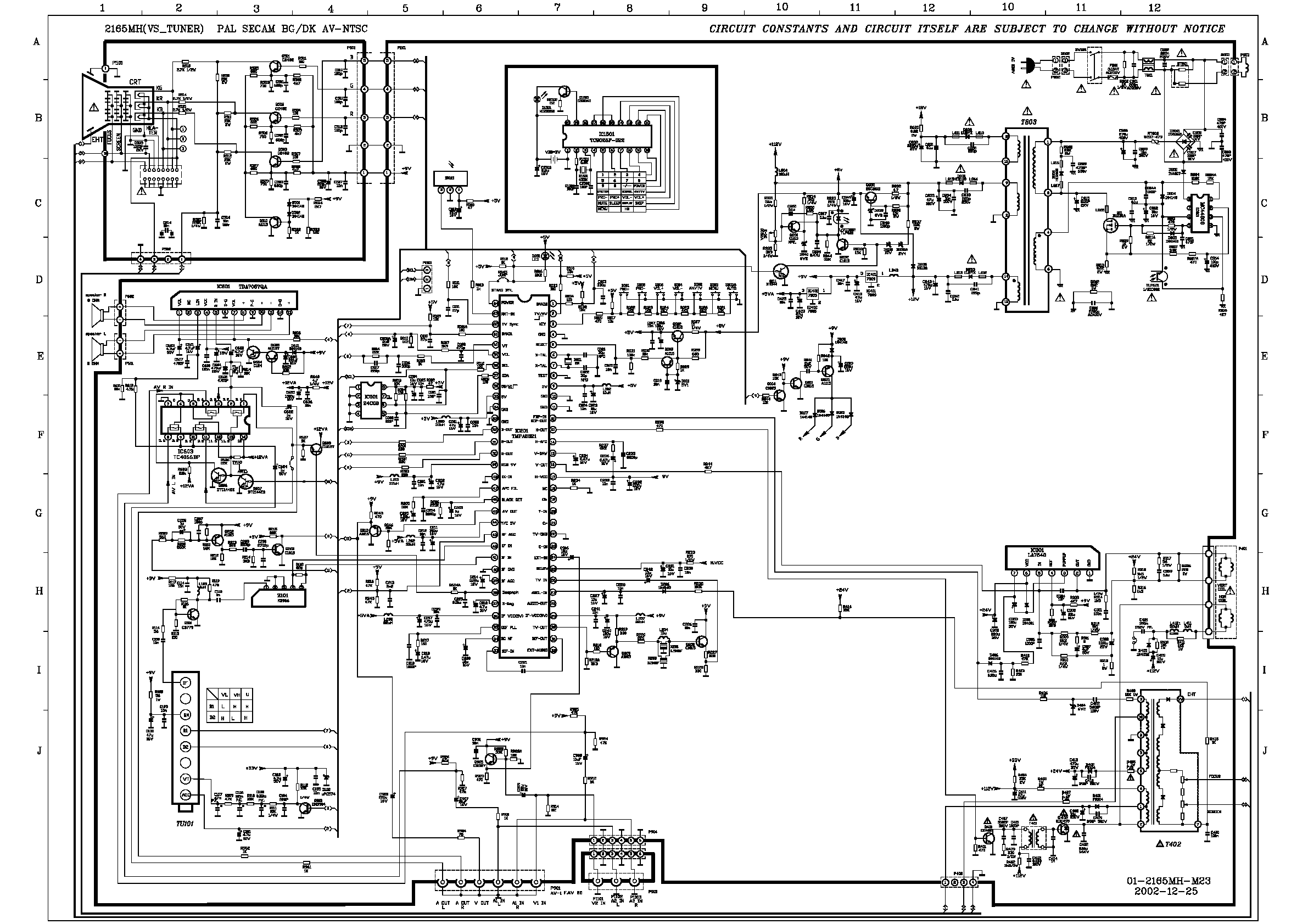 Circuit Diagram For Tv: Tv schematic diagram wiring