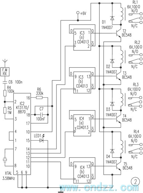 remote control circuit Page 7 : Automation Circuits :: Next.gr