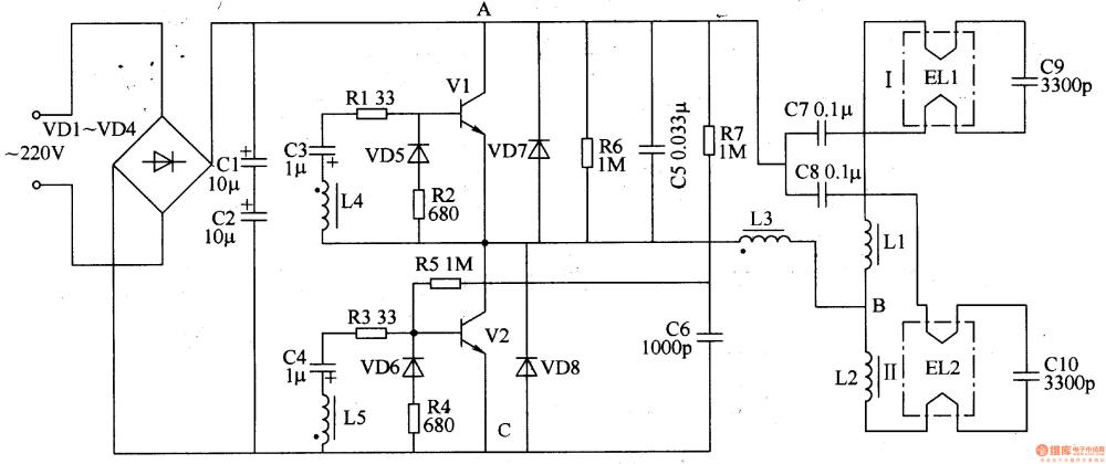 medium resolution of fluorescent circuit page 3 light laser led circuits next gr 20w fluorescent lamp electronic ballast circuit diagram powersupply