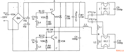 small resolution of fluorescent circuit page 3 light laser led circuits next gr 20w fluorescent lamp electronic ballast circuit diagram powersupply