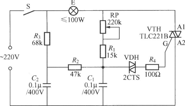ac triac dimmer circuit design help resistive load