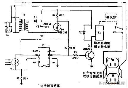 > circuits > AC power control photocell memory switch