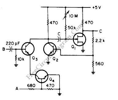 monostable oscillator circuit Page 2 : Oscillator Circuits