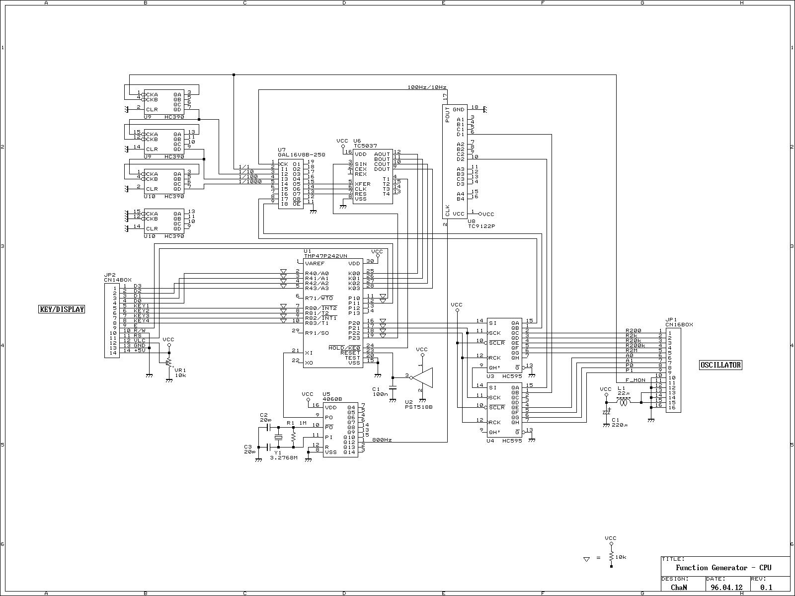 Gt Oscillators Gt Astable Gt Function Oscillator Generator