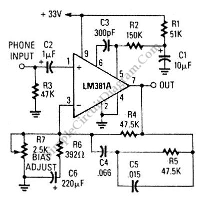 Magnetic Phono Preamp Has Ultra Low Noise Figure under