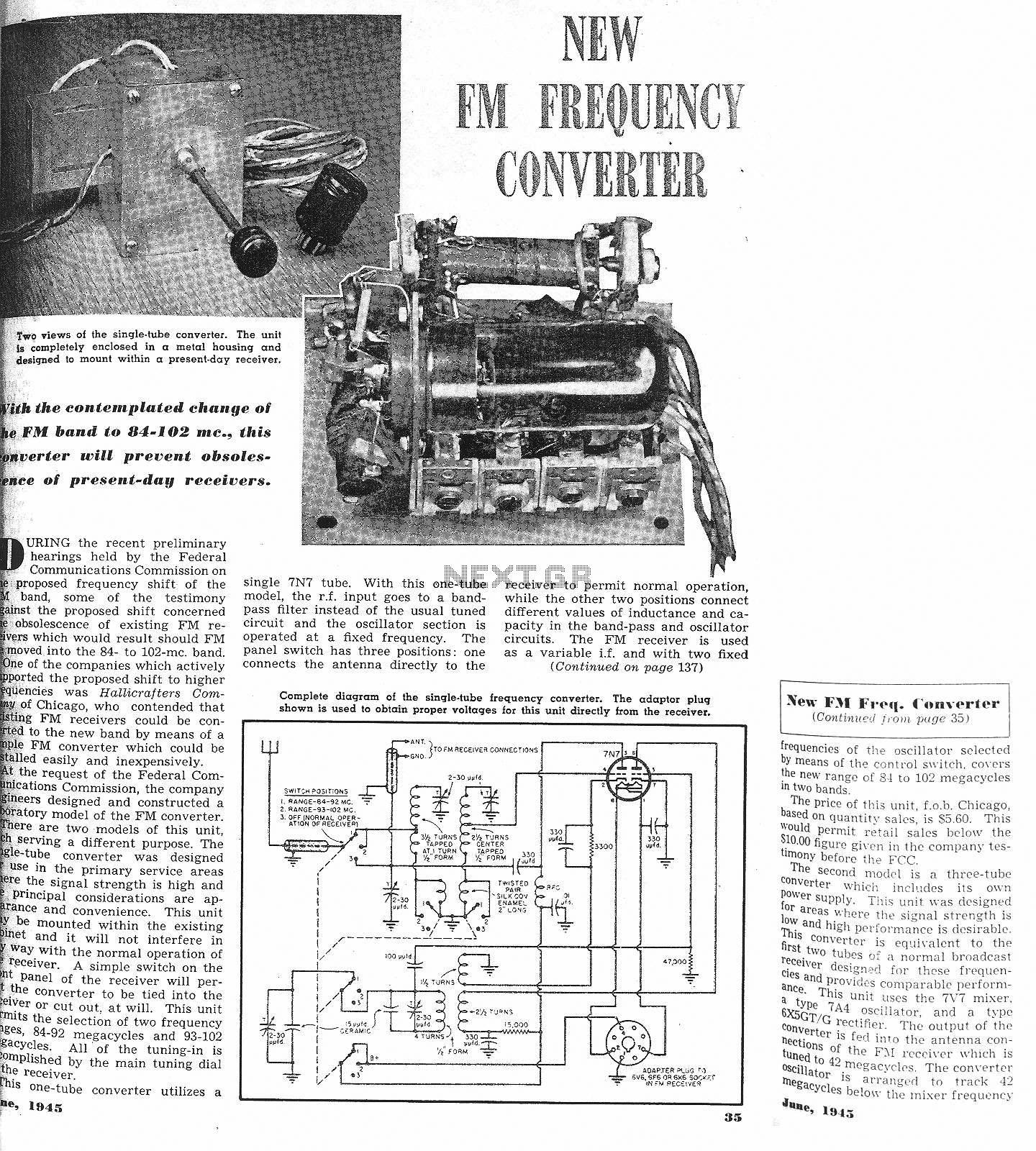Fm Tuner Schematic