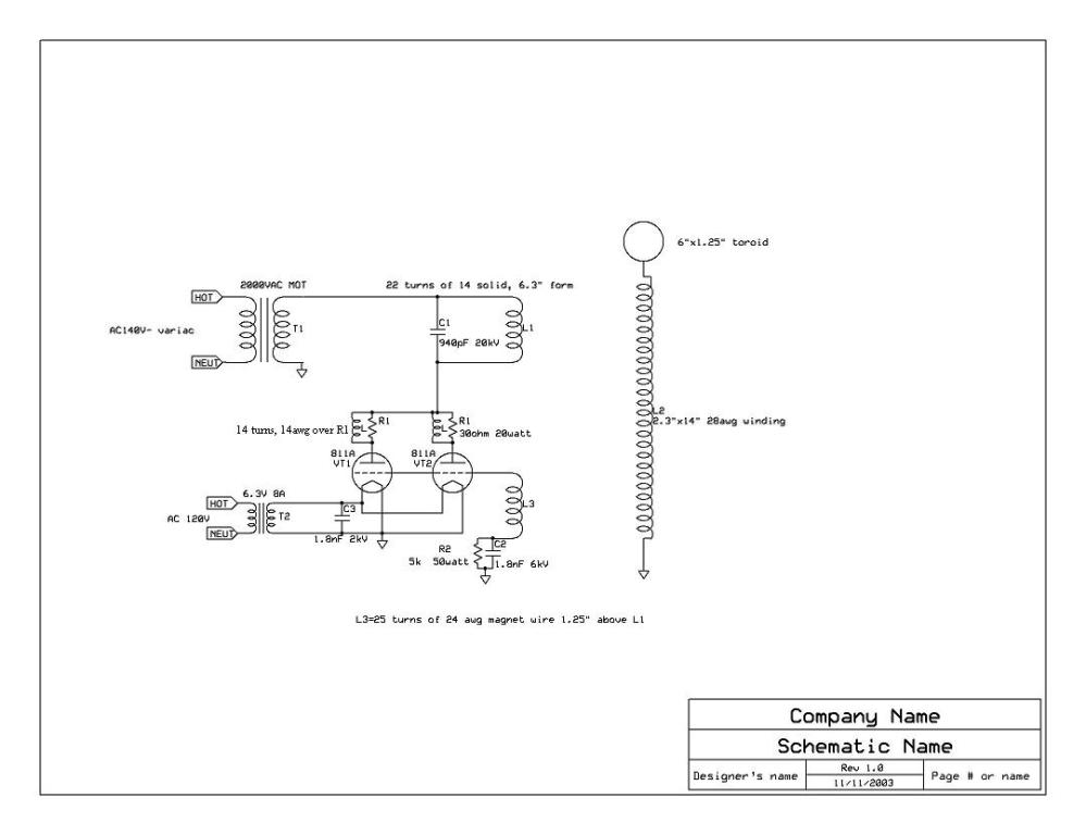 medium resolution of vacuum tube tesla coil vttc here is the particular schematic