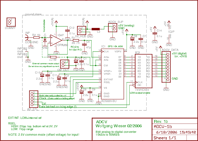 Pc Switching Power Supply Wiring Diagram Usb Live Oscilloscope Adcv Board Under Repository
