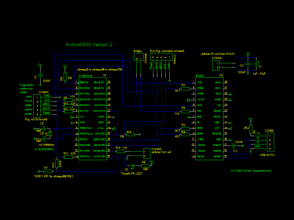 wiring diagram open source renault master 2006 circuit library avr usb 500 v2 atmel programmer stk500 compatible interface microcontroller