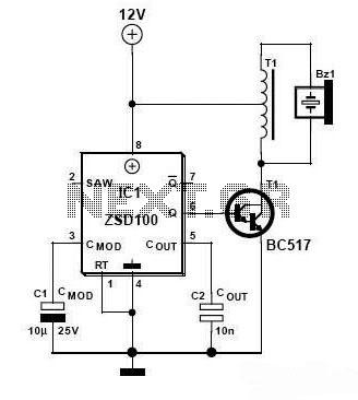 Piezo Siren Circuit Diagram, Piezo, Free Engine Image For