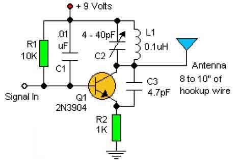 rf oscillator circuit : Oscillator Circuits :: Next.gr
