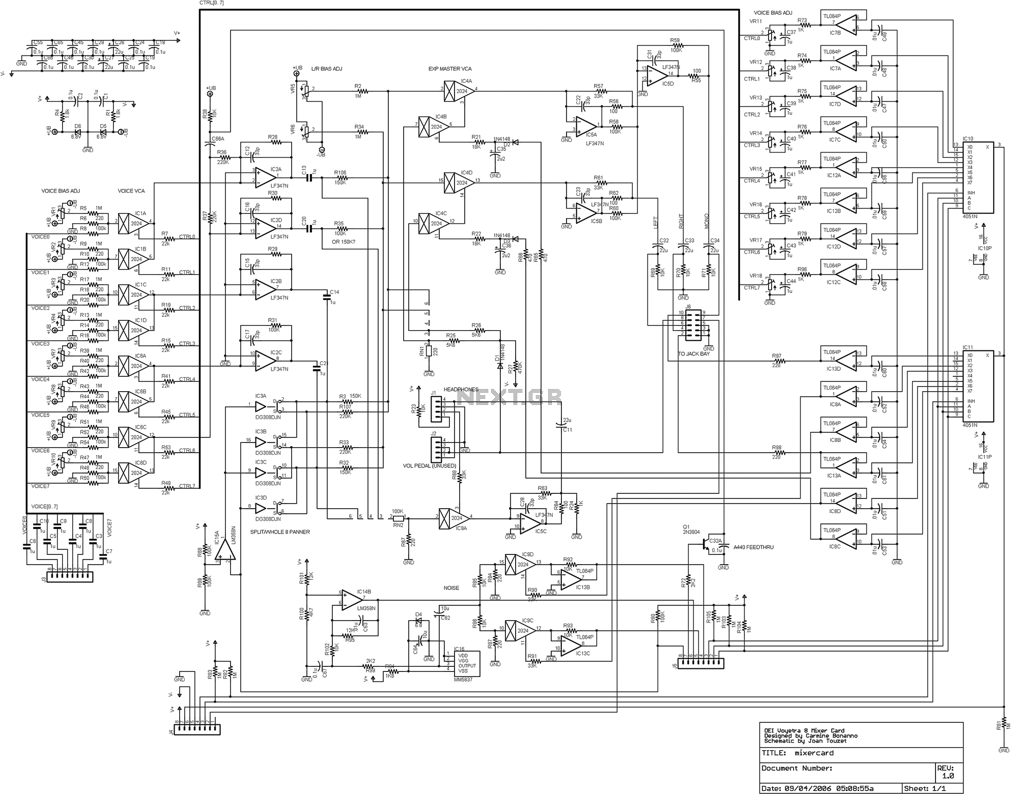 audio mixer circuit Page 2 : Audio Circuits :: Next.gr