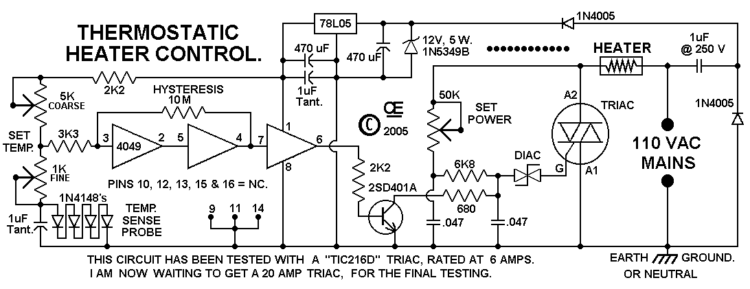Triacreedacswitch Controlcircuit Circuit Diagram Seekiccom