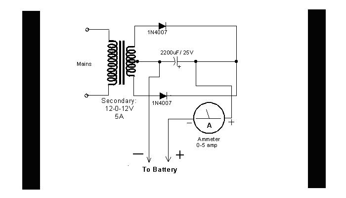 DIY Circuit Car Battery Charger