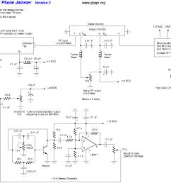 cell phone jammer schematic  [ 1353 x 1095 Pixel ]