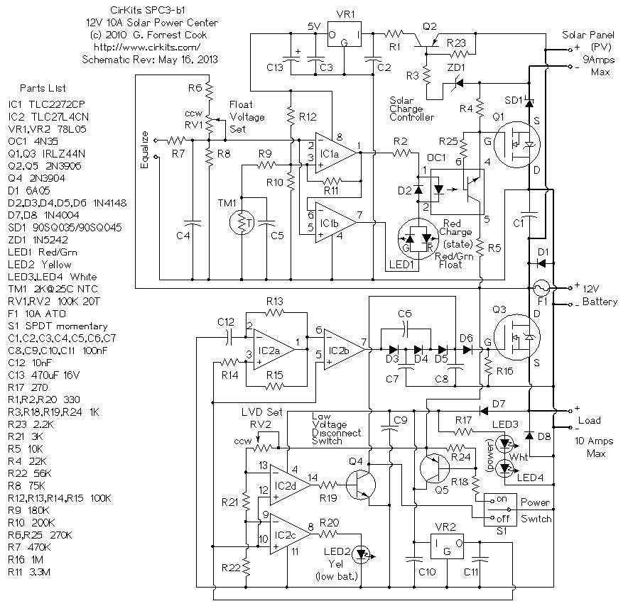> sens detectors > light > 6 Amp Solar Power Center l1733