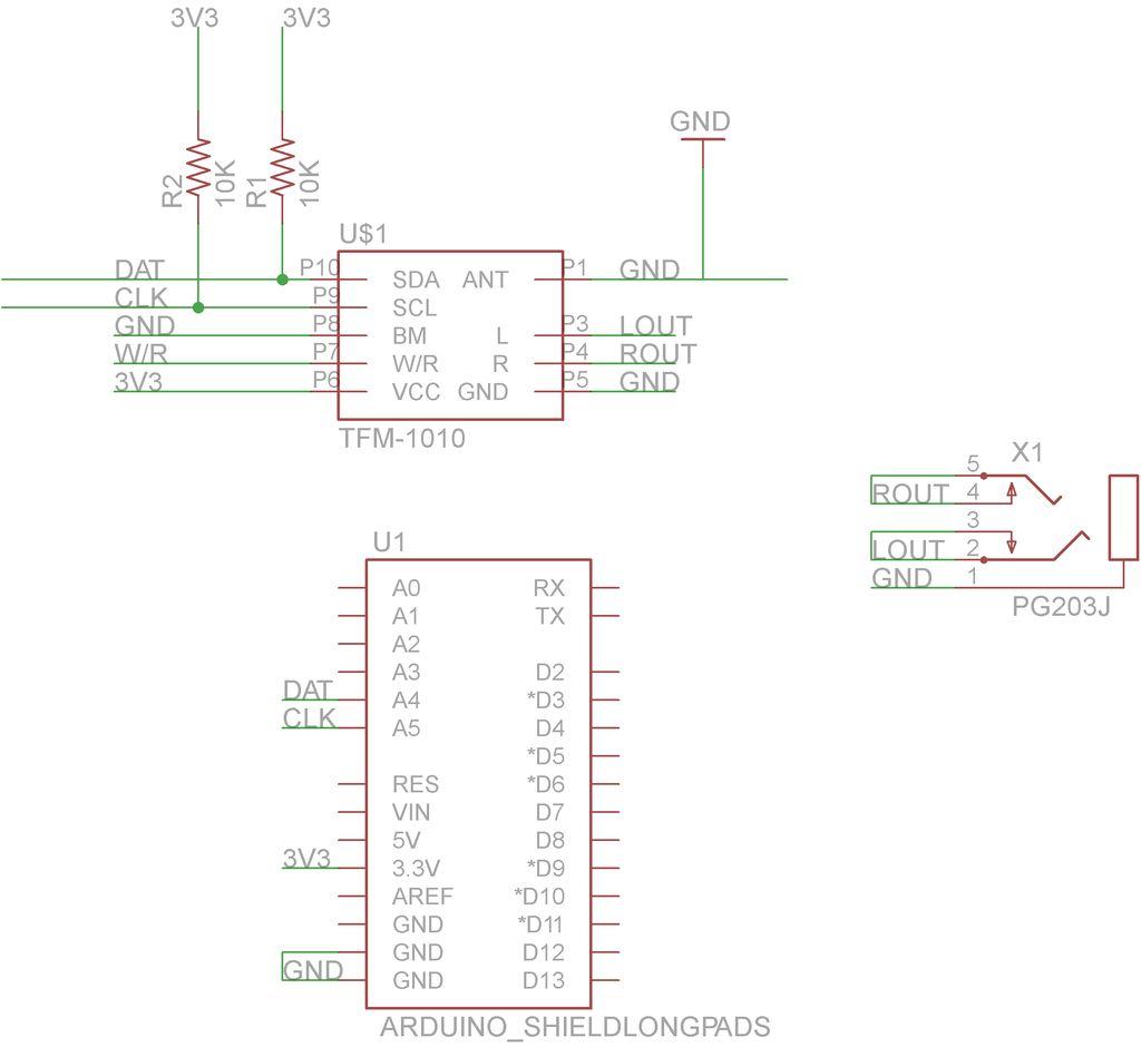 hight resolution of arduino fm radio receiver shield